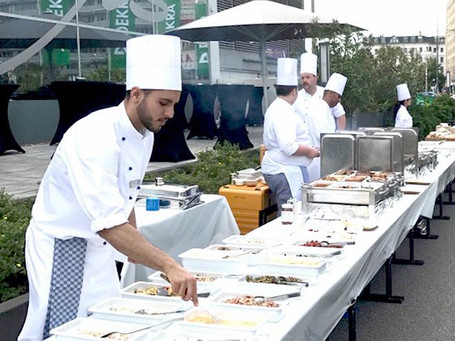 AYMANDO PERSONALDIENSTLEISTUNG - Köche bei einer Veranstaltung